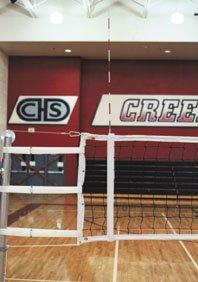 Volleyball Net Antennas