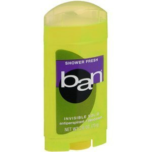 BAN SOLID SHOWER FRESH 2.6OZ KAO BRANDS by Choice One