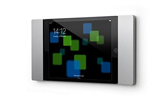 smart things solutions s09 s sDock Fix mini - Abschließbare Wandhalterung und Ladestation zur dauerhaften Installation für Apple iPad mini 4+5 Silber