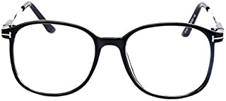 Large Nerdy Thin Plastic Frame Clear Lens Eye Glasses Frame Eyewear