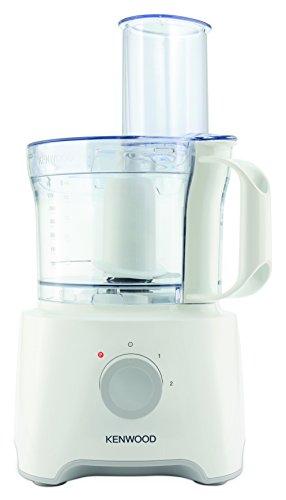 Kenwood FDP300WH MultiPro Compact Robot da Cucina, 800 W, 2.1 Litri, Plastic, Bianco