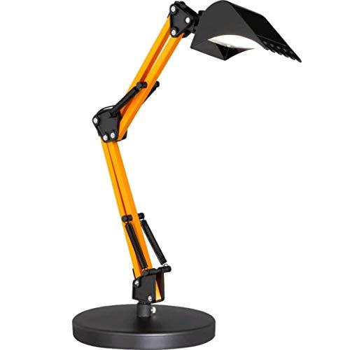 ACTION by WOFI SCOOP Premium LED Tischleuchte, Bagger Schreibtischlampe für Kinder oder das Arbeitszimmer, dimmbar, schwenkbar, CCT Farbtemperatursteuerung, Höhe 50 cm