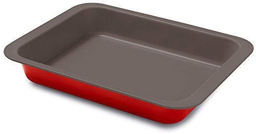 Guardini ROSSANA Plat à four 22x28 cm Acier antiadhésif Rouge 22x28 cm