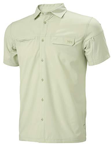 Helly Hansen Verven T-Shirt à Manches Courtes pour Homme Vert glacé Taille M