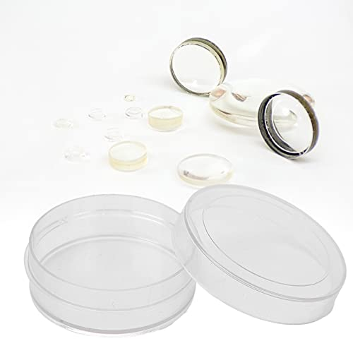 Caja de almacenamiento de plástico, caja de almacenamiento Material plástico de calidad para piezas de relojes profesionales para reparación de relojes Accesorios de relojes para
