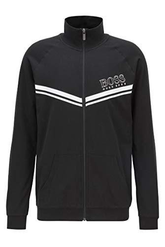 BOSS Herren Authentic Jacket Z Sweatshirt, Black1, M EU