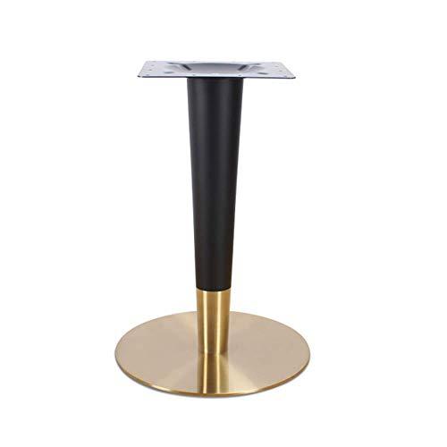 YXB Meubelsteun voet Eettafel voeten roestvrij staal vergulde westerse restaurant tafelpoten eenvoudige eettafel ronde basis tafel poten metalen beugel tafelpoten