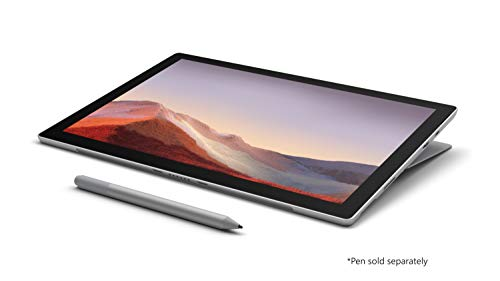 "NEW Microsoft Surface Pro 7 – 12.3"" Touch-Screen - Intel Core i5 - 8GB Memory - 256GB SSD(Latest Model) – Platinum"