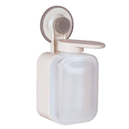 Homyl Distributeur Bouteille de Savon Liquide Mural pour Salle de Bain Toilette Lavage des Mains