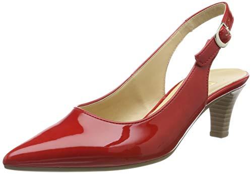 Gabor Shoes Damen Fashion Pumps, Rot (Red 75), 36 EU