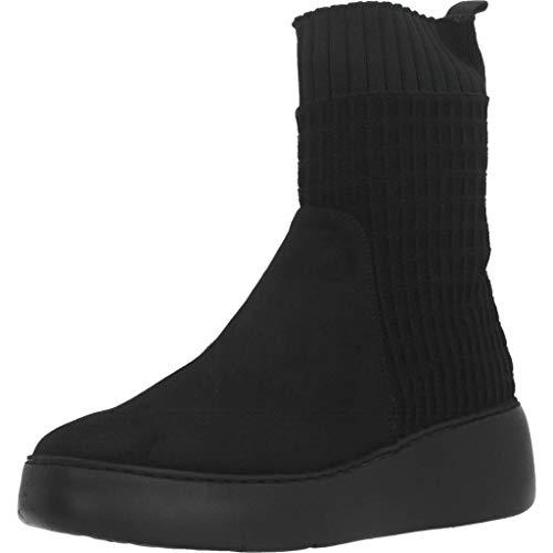Wonders Stiefelleten/Boots Damen, Farbe Schwarz, Marke, Modell Stiefelleten/Boots Damen A8337 Schwarz
