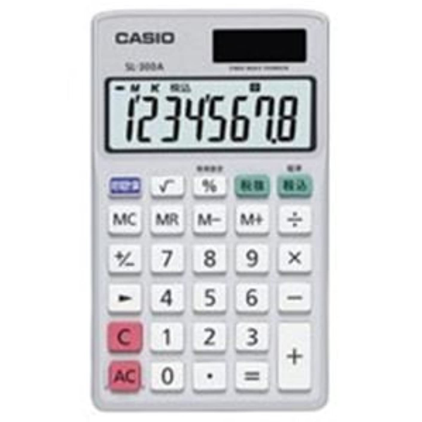 専門用語抑制開梱(業務用4セット)カシオ CASIO 手帳サイズ電卓 SL-300A-N ds-1465127