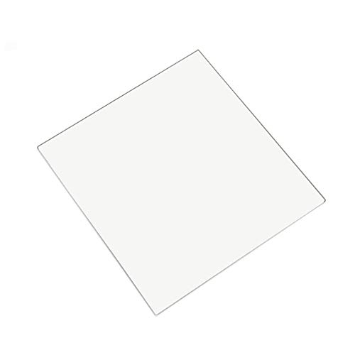 Pannello incassato in vetro borosilicato, 220 mm x 220 mm x 4 mm, per MP Maker Select, Anet A8, Anet A6, Wanhao Duplicator I3 3D Printer Printbed