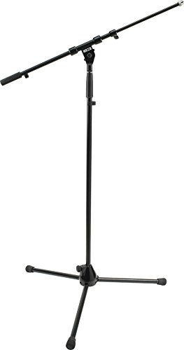 3. DR Pro Tripod Mic Stand with Telescoping Boom