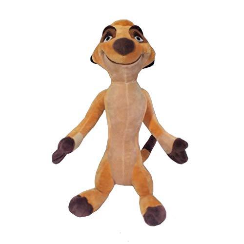 nanyin Der König Der Löwen Timon Plüschtier 30Cm, Niedliche Kuscheltiere Jungen Mädchen Kinder Spielzeug Für Kinder Geschenke