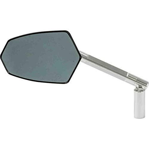 Puig Rear Mirror MOD. GT HOMOLOGATED Left Side C/Silver-Black