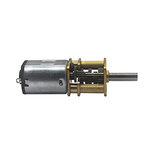 Pequeño motor eléctrico REDUCCIÓN MINIATURA DC 6V 15RPM A 3000RPM MOTOR DE REDUCCIÓN 3MM EJE DE REDUCCIÓN METÁNICO MOTOR N20 MOTOR DE REDUCCIÓN (Speed(RPM) : 3000 rpm, Voltage(V) : 6V DC)