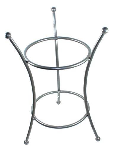 Budawi® - Brunnen Tischständer für Zimmerbrunnen Edelsteinbrunnen, Glasschalen Brunnenständer, Bodenständer