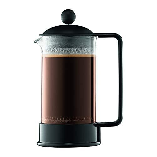 Bodum 1543-01SA-10 Brazil - Cafetera de pistón (plástico, 3 tazas, 0,35 litros)