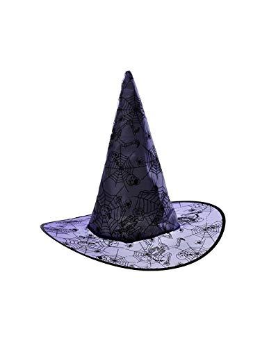 DISBACANAL Sombrero de Bruja - Azul, -