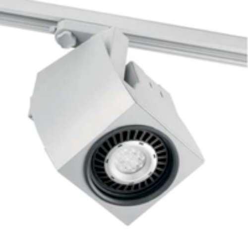 Barcelona Fokus 01041501 Projecteur Projecteur LED-Aluminium Blanc