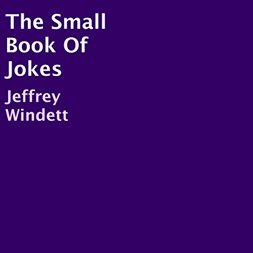 The Small Book of Jokes audiobook cover art