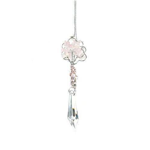 WFZ17 Resistente al desgaste de cristal sintético exquisitas piedras collar colgante perlas cortinas para el hogar 4
