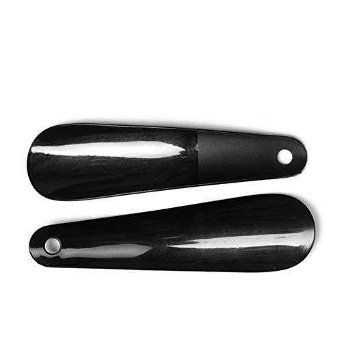 Quskto Schoen Hoorn Plastic Reizen Schoen Adductor Lepel Schoen Helper Met Gat, 2 Pack Geschikt Voor Iedereen Thuis Utility Gadget