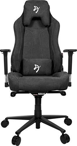 Arozzi VERNAZZA-SFB-DG Chair, Metal, Dark Grey, Large