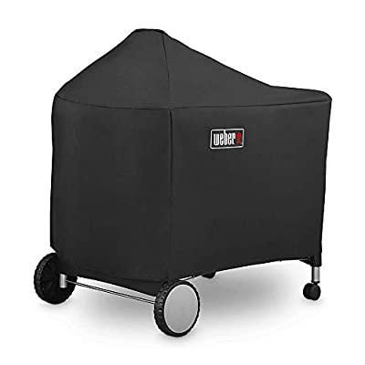 Weber 7152 | 7455 Grill Cover for Performer Premium and Deluxe, 22 Inch for Weber Performer Charcoal Grills(48.5 X 25.5 X 39.8 inches) (Standard Version)
