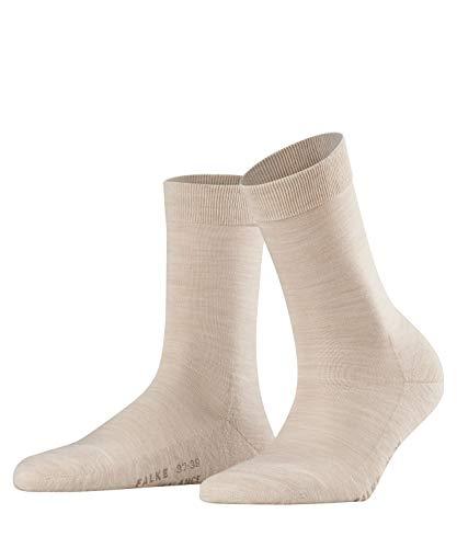FALKE Wool Balance Chaussettes Femme NA Beige (Sand Mel. 4659) 37/38 (Taille fabricant: 37-38)