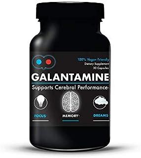 Sponsored Ad - Galantamine - 6 mg - Lucid Dreaming, Nootropic, Brain Health - Vegetarian Capsules - Dye-Free