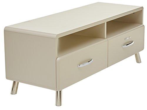 TENZO TV-Bank, Holz, 46 x 118 x 43 cm, warm Grey