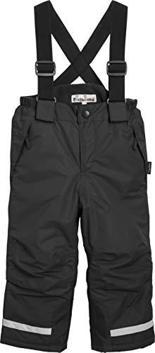 Playshoes Jungen Gefütterte Kinder, Skihose, Snowboardhose Schneehose, Schwarz (schwarz), (Herstellergröße: 104)