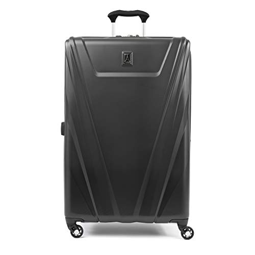 Travelpro Maxlite 5-Hardside Spinner Wheel Luggage, Black, Checked-Large 29-Inch
