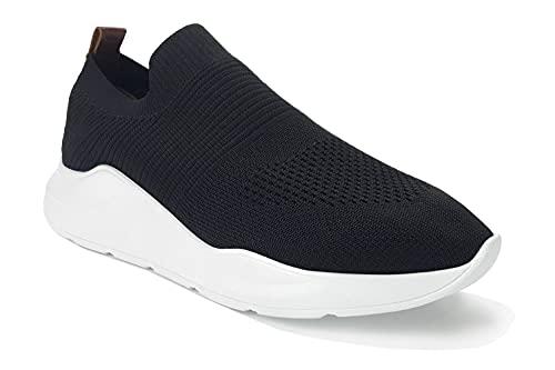 Çancı Tricot Sneaker – damskie buty sportowe – oddychające buty do biegania, lekkie buty sportowe – buty do biegania po ulicy – fitness na siłownię – buty do chodzenia po górach, czarny - czarny - 40 EU