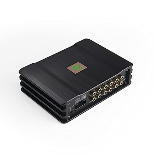 Sennuopu, Amplificador Audio Coche, Amplificador de 4 Canales,Procesador Digital Sighal de 8 Canales,Ecualizador de 31 Bandas, Reproductor Bluetooth