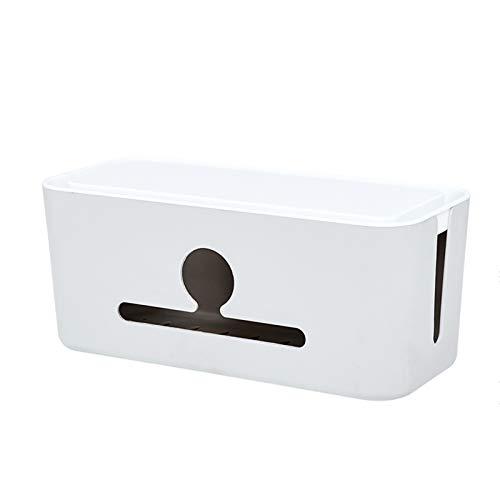Caja Organizadora de Cables,Caja Cables para Regletas Enchufes,organizador de cables para escritorio,Organizador para regletas de enchufes,(Hay 4 estilos para elegir,el tamaño es de 31 * 14 * 13 cm)