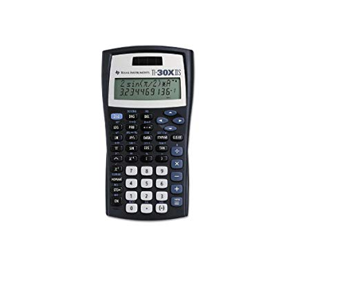 (6 Pack Value Bundle) TEXTI30XIIS TI-30X IIS Scientific Calculator, 10-Digit LCD
