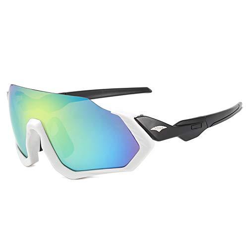 BAFEYU Gafas de Sol de Bicicleta Gafas de Ciclismo PC Marco irrompible Polarizado Deportes Sunglasse para Escalada Pesca Conducción Golf