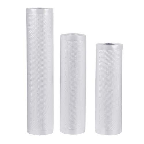 Select Zone 20/22/28 cm bolsas de envasado al vacío bolsas de alimentos bolsas 6 m rollos Kitchen Saver bolsa de almacenamiento de alimentos (color: 28 cm)