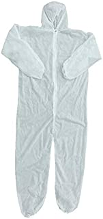 Security Protection Clothes Disposable Coverall Dust-proof Clothing Isolation Clothes Labour Suit One-pieces Nonwovens