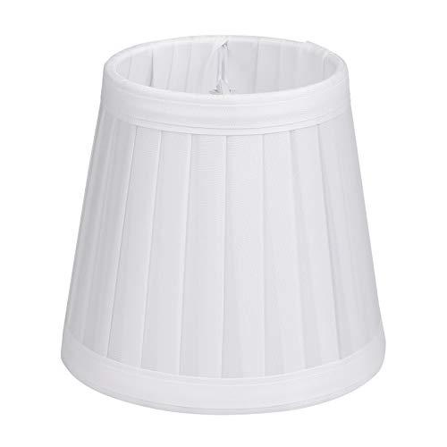 OSALADI Lampenschirm im Europäischen Stil Clip auf Glühbirne Fass Stoff Lampenschirm Schutz Lampenabdeckung für Tischlampe Kronleuchter Wandlampe Kandelaber Glühbirnen Kerzenlampen