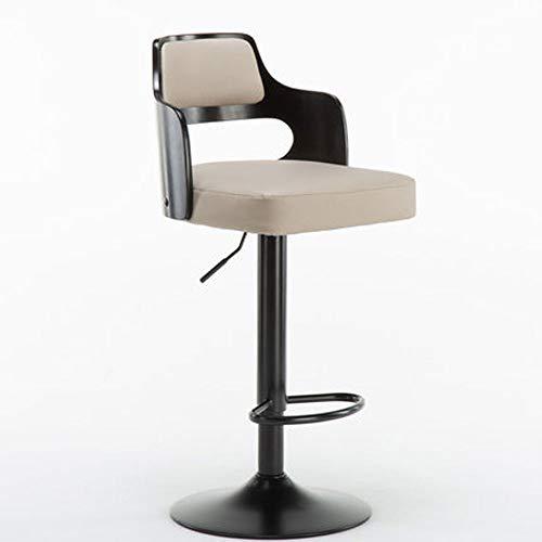 xxz Taburete de Bar,Taburetes de Bar de Estilo Europeo,sillas de Bar Elevadoras y giratorias,taburetes Sencillos para el hogar,Elegante y Simple,Suave y Hermoso,Ambiente Hermoso,taburetes Cocina