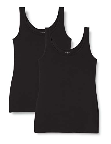 Marca Amazon - Iris & Lilly Belk023m2 - Vest Mujer, Negro (Black), XXL, Label: XXL