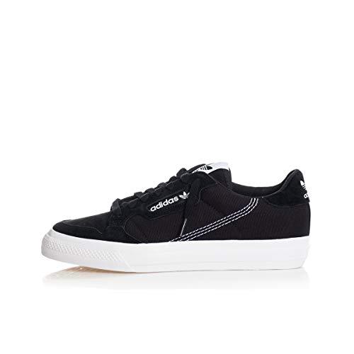 Adidas Continental Vulc Black White Black 42.5