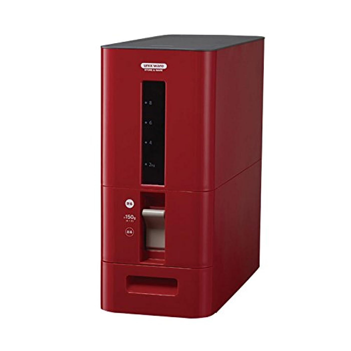 マーガレットミッチェル入場ところでS計量米びつ12kg型   ライスストッカー 米櫃 ライスボックス こめびつ キッチン収納 保存容器(C023)