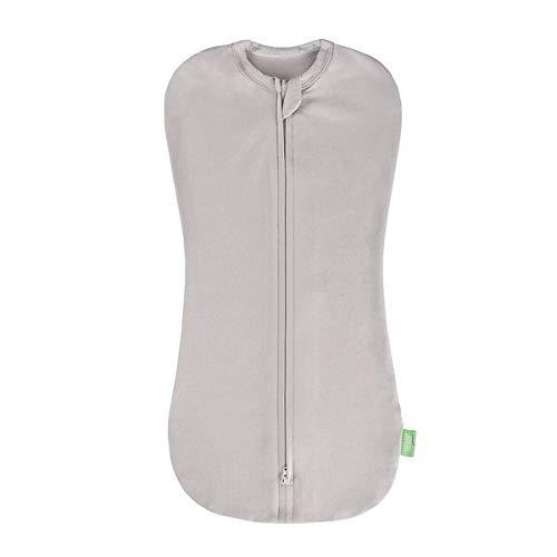 Lulando Snoozy Baby Decke Pucktuch Baby Für Neugeborene Swaddle Decke aus 100% Bio-Baumwolle, 5-8,5kg, grau