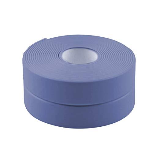 Nicoone Cinta de calafateo de baño 3,2 m* 22 mm impermeable tira autoadhesiva para cocina lavabo bañera