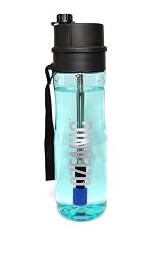 Ozeanic EcoBottle 750ml Botella Ozonizador de agua Generador de ozono Purificador de agua Portátil Elimina virus y bacterias Sin filtro